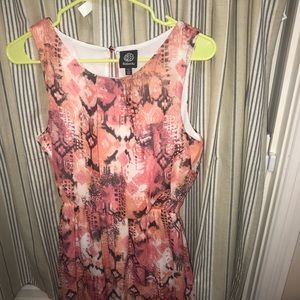Bobeau high low dress XS